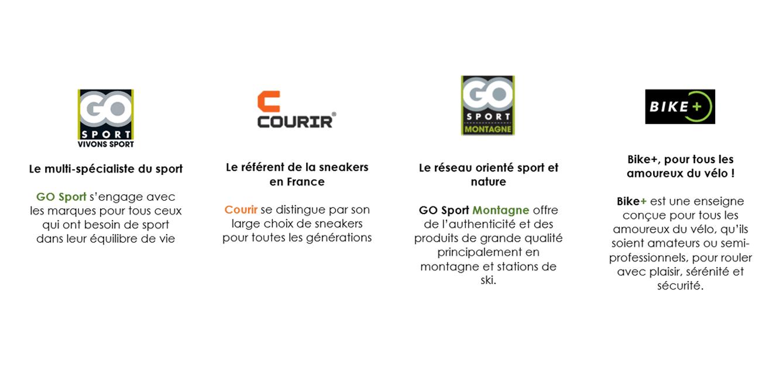 9fc90f54f85 Le GROUPE GO Sport c est 4 enseignes